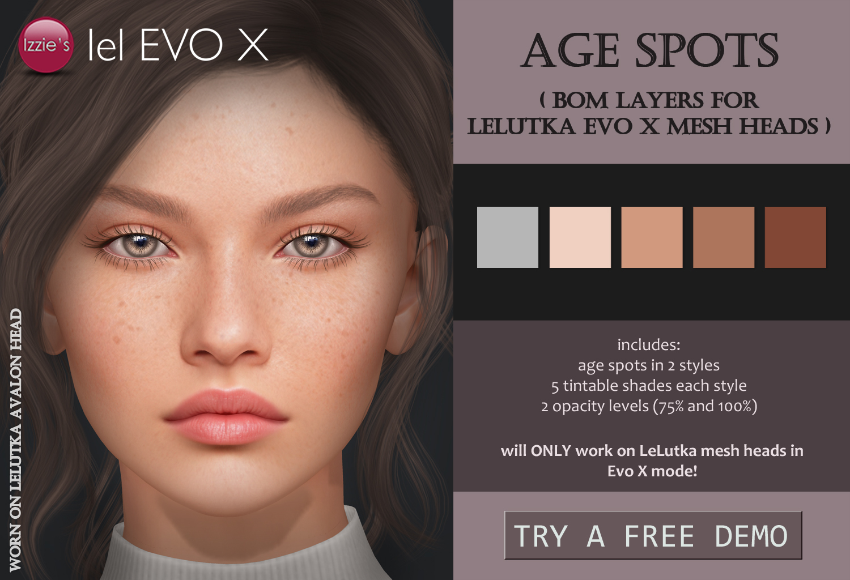 age spots evo x